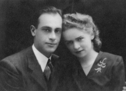 dr. Issekutz János és felesége