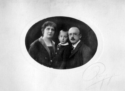 Bogdándy Béla és családja