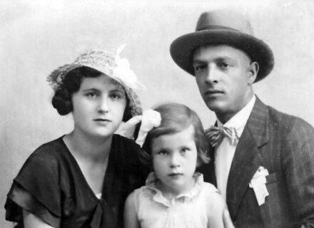 podusparti Zakariás Sándor és családja