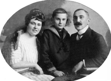 Török Dezső családjával